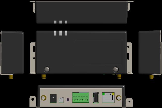 Armadillo-IoTゲートウェイG3Lの外観